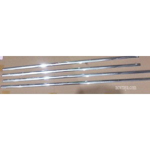 WEATHER STRIP CHROME, Toyota Innova