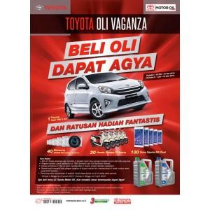 Oli TOYOTA Promotion