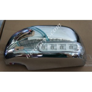 chrome +sign rearview mirror innova