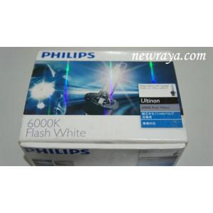 lampu HID phillips 6000k Flash White